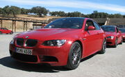 BMW M3 E92 coupe front