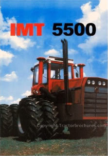 IMT 5500 4WD brochure