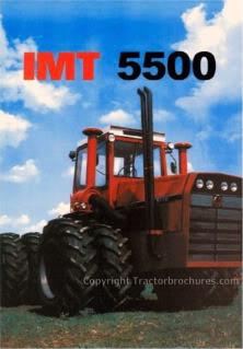 IMT 5500 4WD brochure