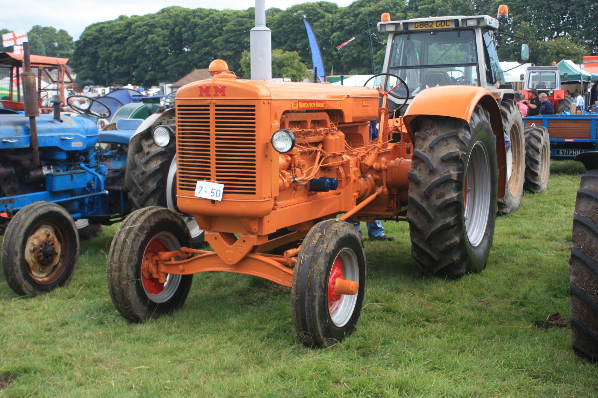 Minneapolis Moline Models : Minneapolis moline gb tractor construction plant wiki