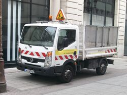 Nissan Cabstar waste collector - Strasbourg