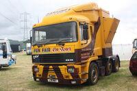 Taylors Fun Fairs - ERF EC12 Generatot truck - L311 MWY at Scorton 09 - IMG 5110