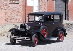 1931 Ford Model A Deluxe Tudor
