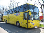 EOS 200 coach in Kraków