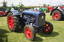 Fordson Nodel N of 1934 reg GPP 220 at Stoke Goldington 09 - IMG 9760