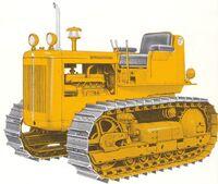 International TD-6 Series 62 yellow 1962