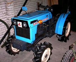 Satoh ST-1300D MFWD (blue)