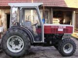 Steyr 8075 vineyard