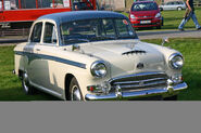 Austin A105 Westminster front 1957