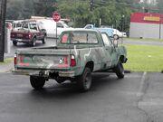CUCV M880 rear
