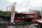 Herbst bale trailers at LAMMA 2013 IMG 6138