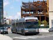 MBTA Silver Line bus 1132
