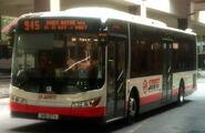 SMRT Buses Zhongtong LCK6121GHEV demonstrator on 945