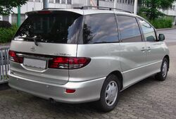 Toyota Previa Facelift rear