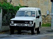 A 1980s EBRO Patrol 2000 Petrol Van 4X4