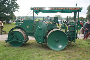Aveling-Barford AD155 Roller - TL7540 at Harewood 08 - IMG 0438