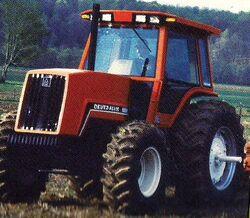 DA 8050 MFWD (orange) - 1987