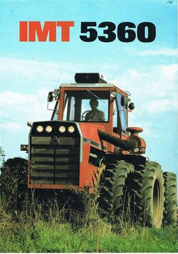 IMT 5360 4WD brochure