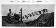 A 1910 Whitaker Brothers Combined Steam Excavator-Transporter