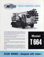 A 1960s Allen Of Oxford Cranetruck Hydraulic T664 Diesel 6X4
