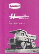 A 1977 Heathfield H19 TD Dumptruck
