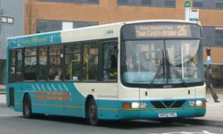 Arriva Guildford & West Surrey 3944 GK52 YVL