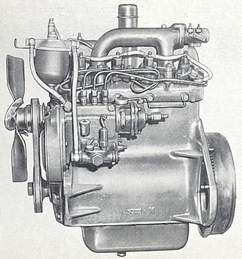 List of International Harvester engines | Tractor