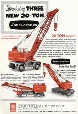 Jones Cranes models