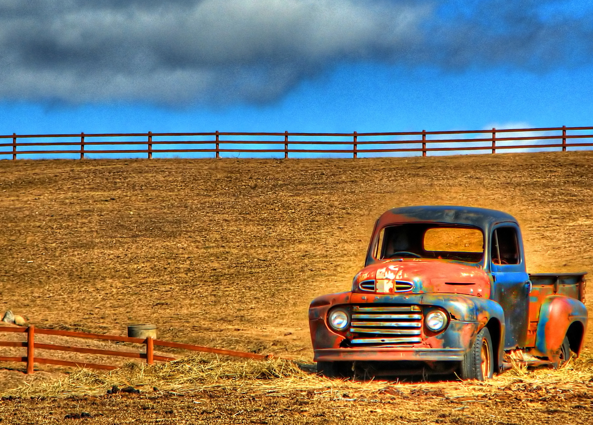 Image - Old Ford pickup, Found in Field Dead.jpg | Tractor ...
