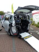 Toyota SIENTA ver.wheelchair Type II (DBA-NSP172G) rear