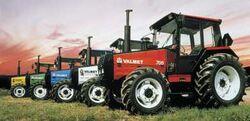 Valmet 705 MFWD (5 colors) - 1988