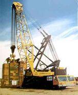 1980s Coles Colossus LT6000 Cranetruck