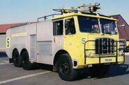 A 1970s Thornycroft Nubian Firetruck 6WD
