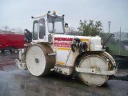 A 1980s Aveling Barford DCO1510 Roadroller Diesel