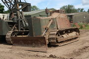 Caterpillar D7 armoured bulldozer - Russell Saywell - IMG 9540
