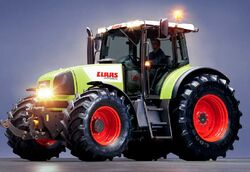 Claas Ares 826 RZ MFWD - 2003