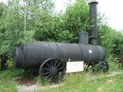 Kociol parowy lokomobilowy typ Ln2 skansen kopalniatg 20070627