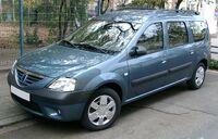 Dacia Logan front 20071025