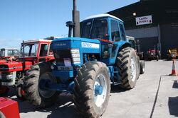Ford 8700 (208-XZB) at TW-Ireland 2013 - IMG 0662