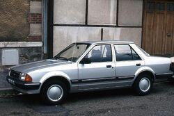 Ford Orion di Francia ca1983