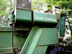 John Deere Combine - 14 September 2008
