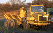 A 1980s Aveling Barford RXD025 6X6 ADT Diesel