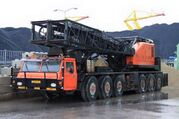 A 1980s Priestman Brothers Lion MC400 MOL Cranetruck