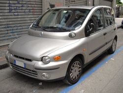 Fiat Multipla silver front