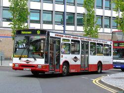 Go West Midlands K302 YJA