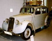 Hillman Minx De Luxe 4-D Saloon 1936