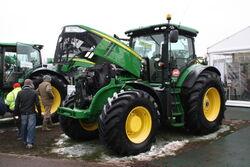 John Deere 7280R tractor at Lamma 2013 IMG 6348