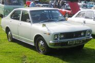 Toyota Carina Bj ca 1971 photo 2008 Castle Hedingham