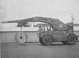 1969 TAYLOR JUMBO 4WD Crane Diesel