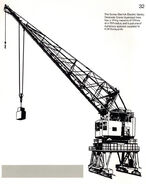 A 1970s Smith Of Rodley Gantry Crane Diesel